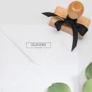 Tampon naissance Design