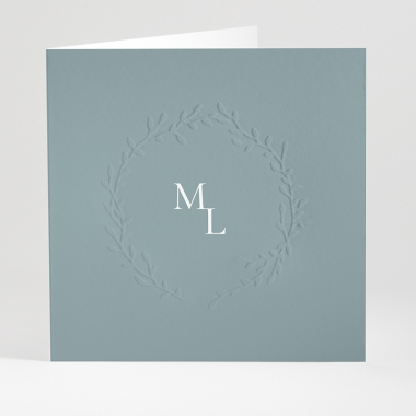 Faire-part de mariage Bouquet chic