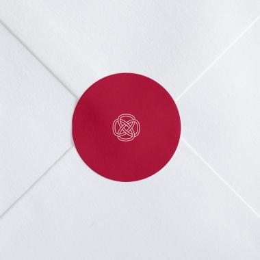 Stickers mariage Uni & Chic