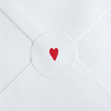 Stickers mariage Petit cœur