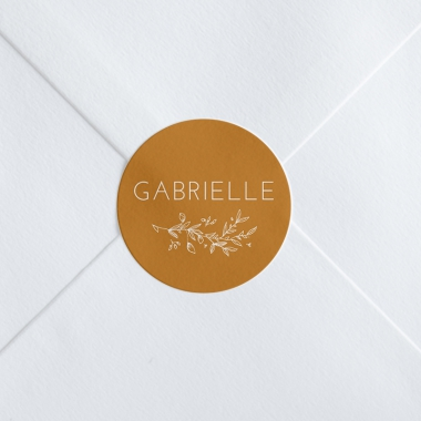 Stickers naissance Jolie branche