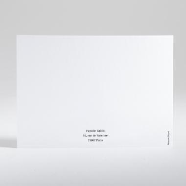 Carte de correspondance Jolie branche dorée