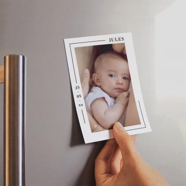 Faire-part de naissance Minois