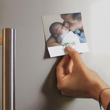 Faire-part de naissance Baiser