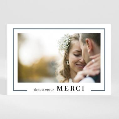 Remerciements mariage Merci