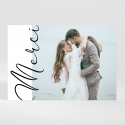 Remerciements mariage Calligraphie