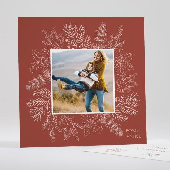 Carte de voeux Esprit de Noël