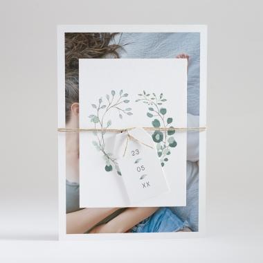 Faire-part de naissance Eucalyptus
