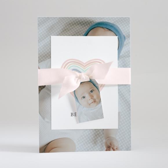 Faire-part de naissance Infini
